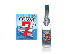 Label- Thrakiotiko Ouzo 7