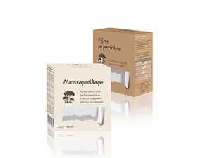 Κουτιά μανιταροπίλαφου - ριζότου Αγροζύμη