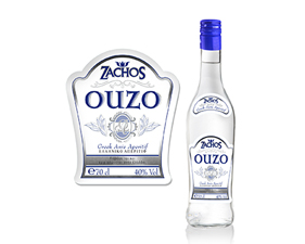 Label- Ouzo Zachos